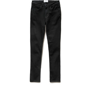 DUER Stay Dry Denim Pants Straight Women, jet black